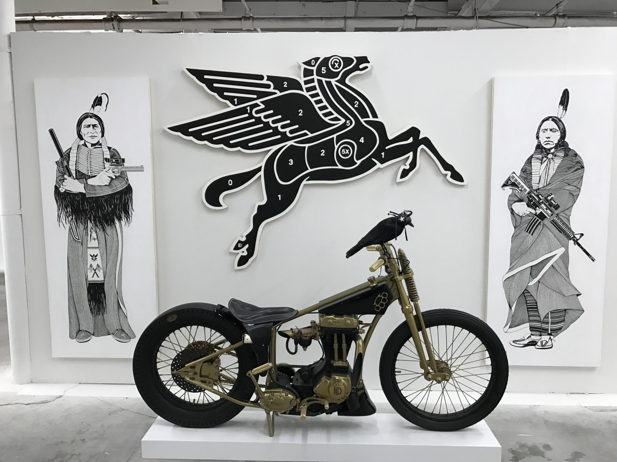 The Juxtapoz Clubhouse - Art by Dylan Egon