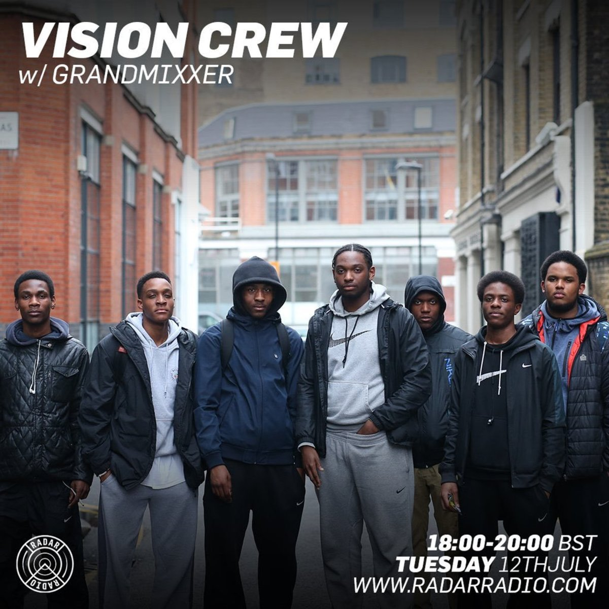 VISION CREW FOR RADAR RADIO.