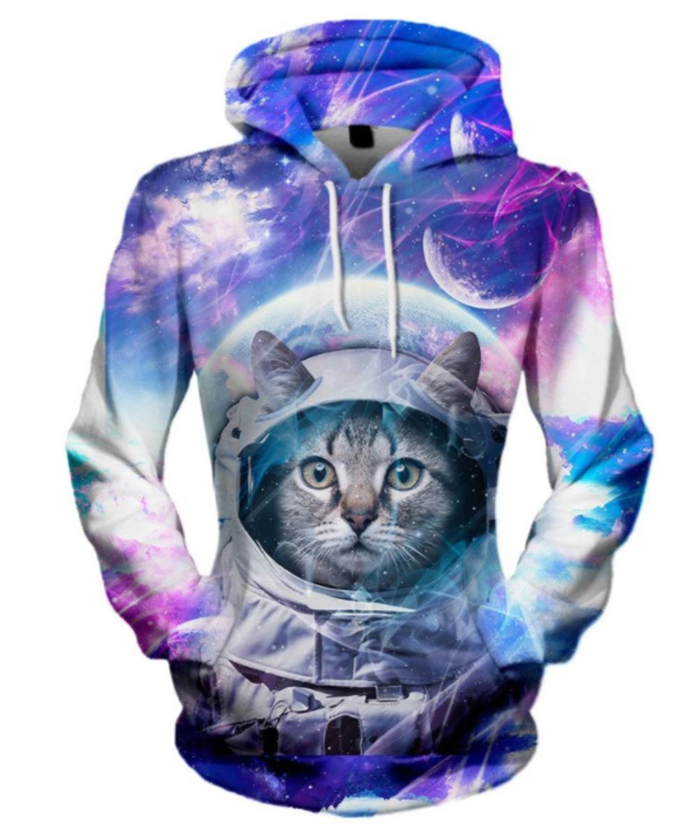 Astro Cat Unisex Hoodie