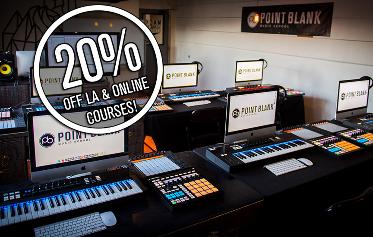 Point Blank 20% Off LA & Online Courses