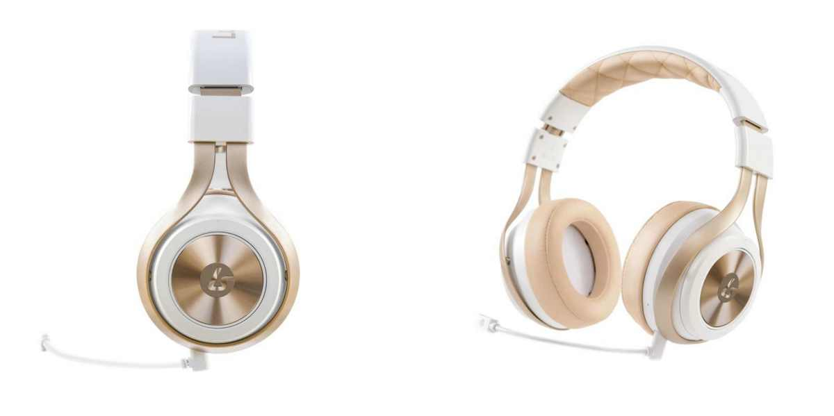 the LS30 wireless in white/gold