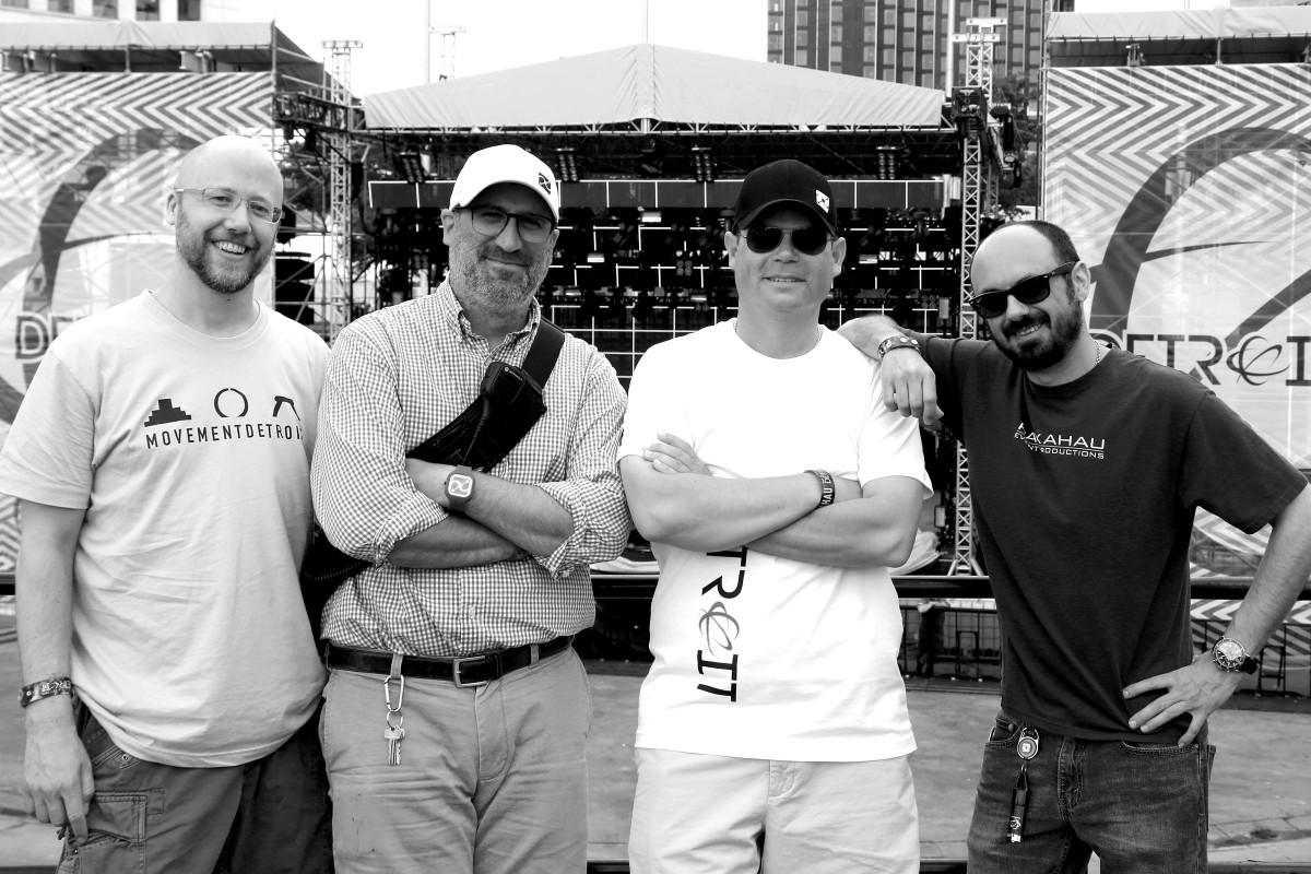 2015: Group Photo of Paxahua Team (L-R: Jason Clark, Sam Fotias, Jason Huvaere and Chuck Flask). Photo Credit: Marie Staggat