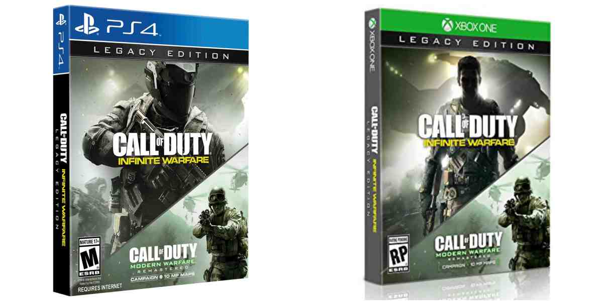 PS4 & Xbox One - Legacy Editions with Infinite Warfare & Modern Warfare: Remastered