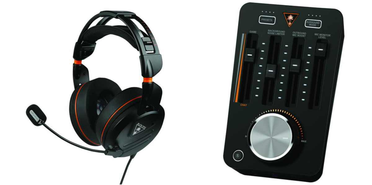 the Elite Pro Tournament Gaming Headset with the Tactical Audio Controller