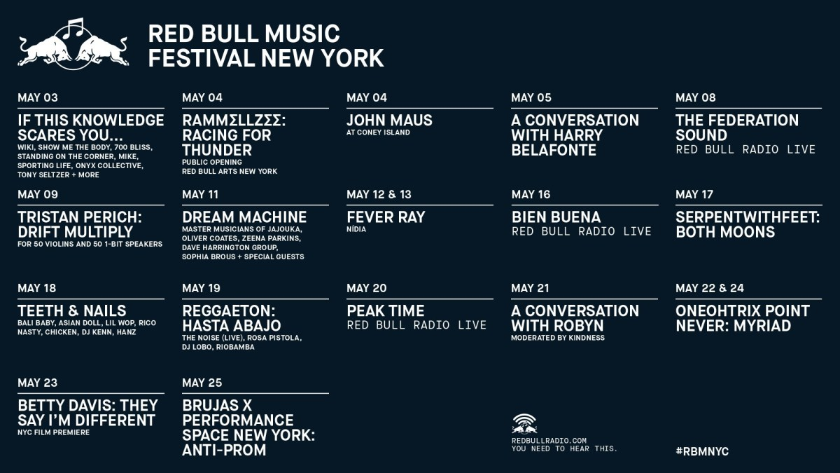 Red Bull Music Festival New York