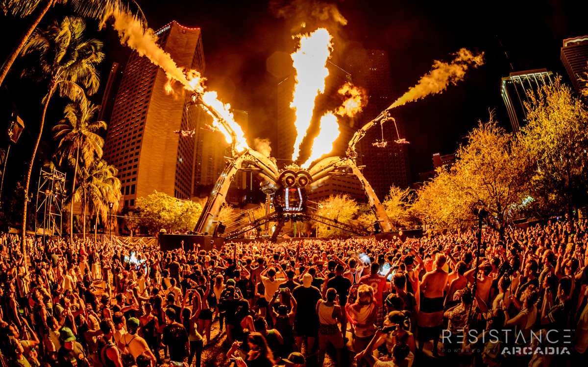 The Spider powered by Arcadia, UMF 2016