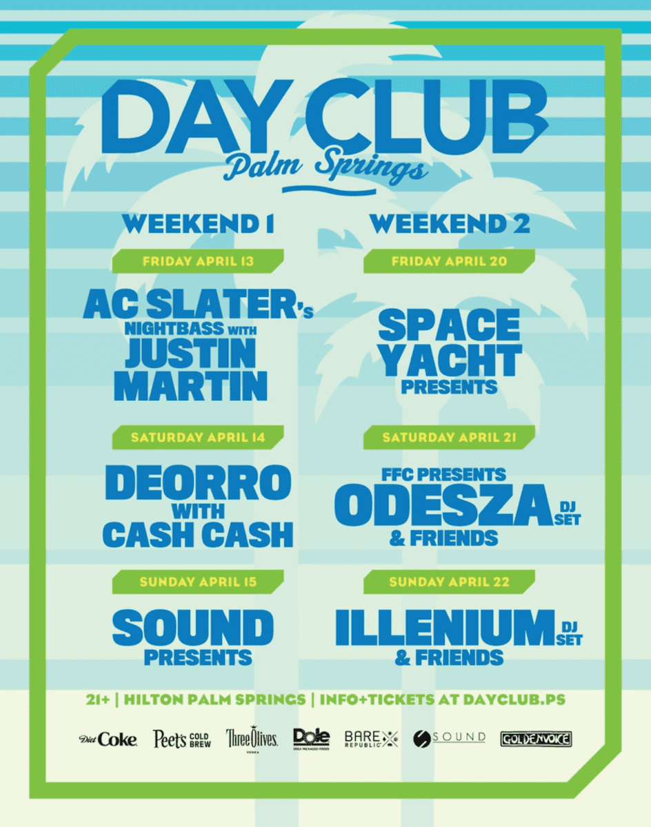 for tickets to Day Club click HERE