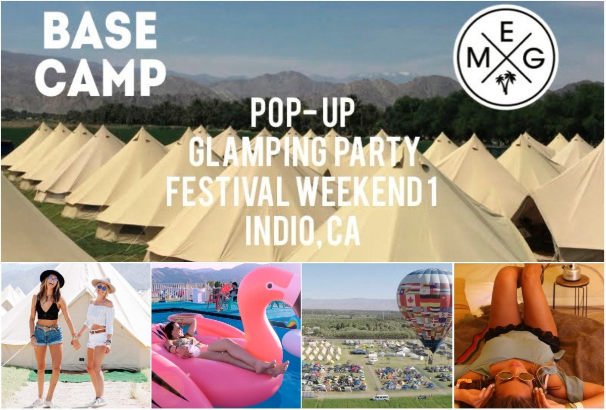 Base Camp delivers the only camping resort experience for Coachella and Stagecoach weekends.