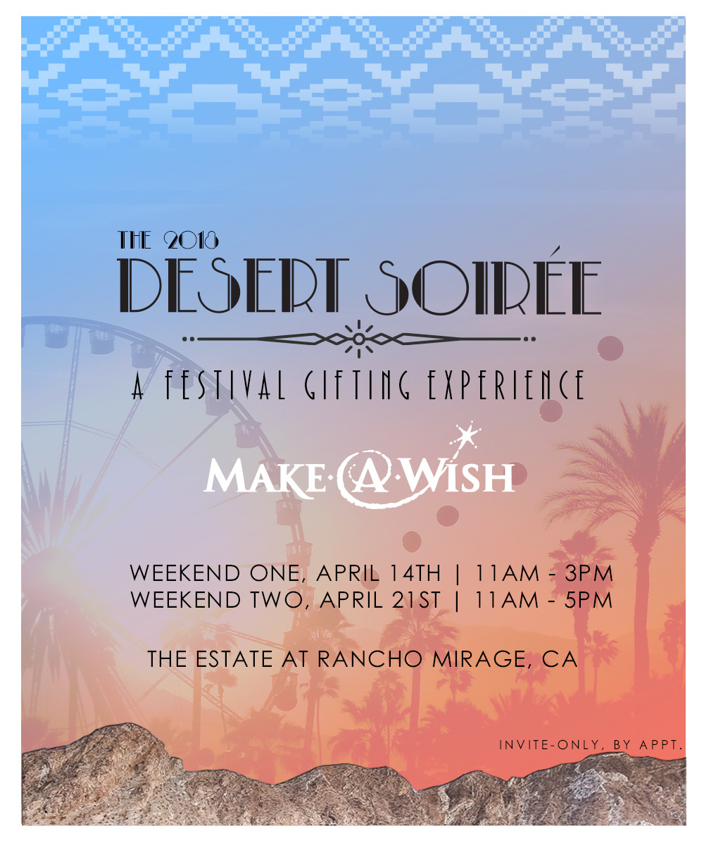 The Desert Soiree Gifting Suite... nothing more relaxing under the sun.