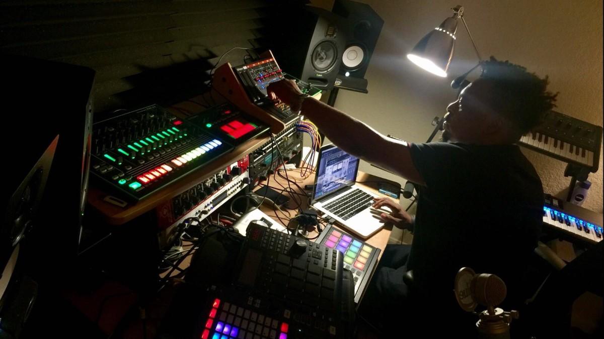 Roy Davis Jr. In Studio