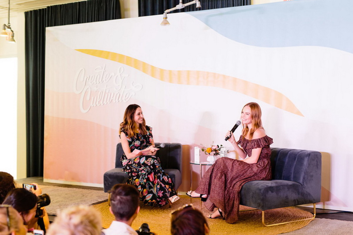 Kate Bosworth at Create & Cultivate