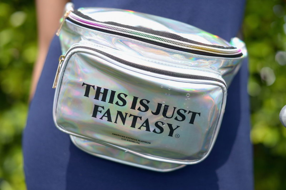 holographic fanny packs with mini fans inside?!? this IS just fantasy!!!