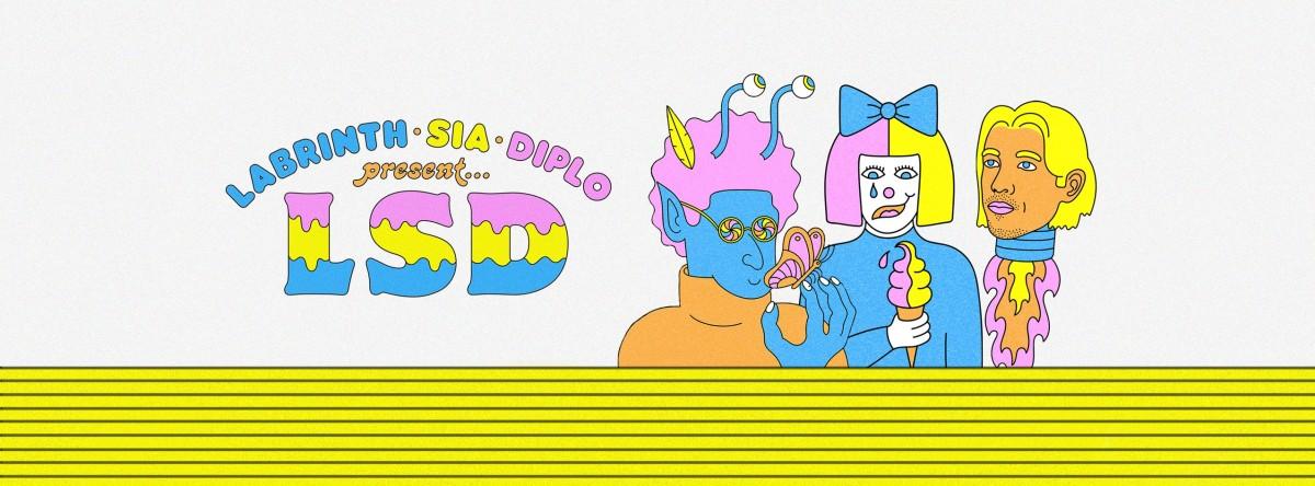 Diplo Sia Labrinth LSD