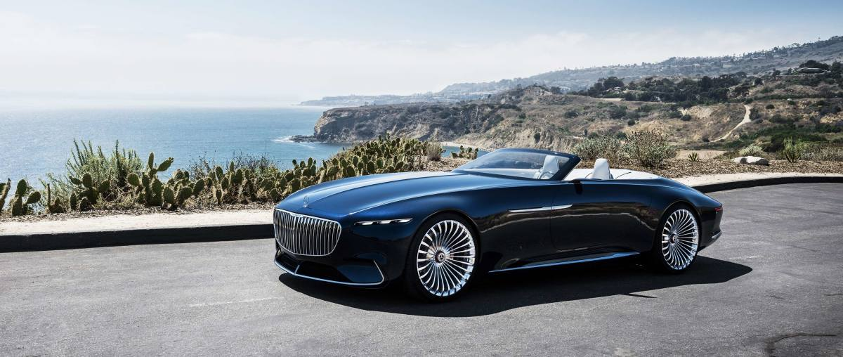 Mercedes Maybach Vision 6