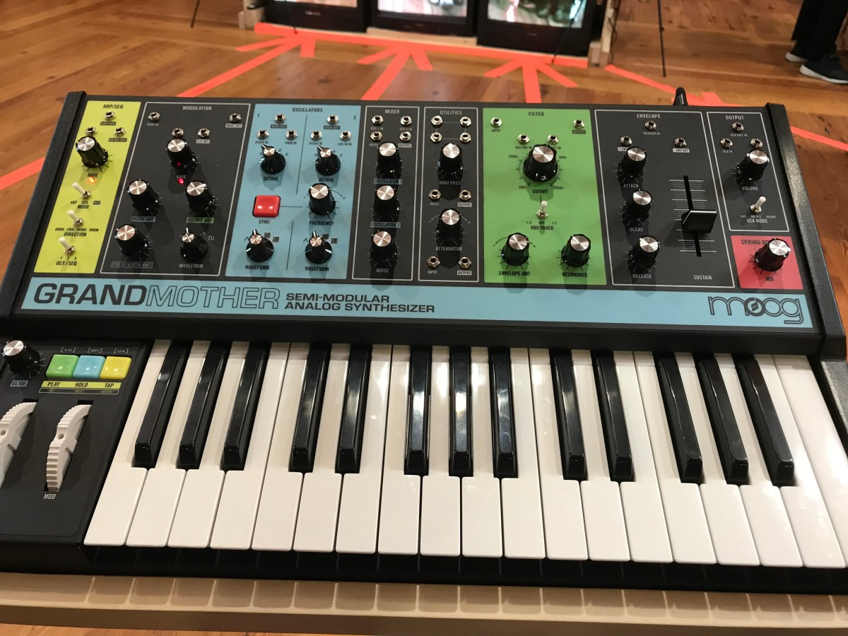 Moog Grandmother Synth