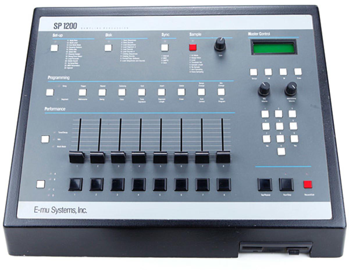 SP 1200 Drum Machine