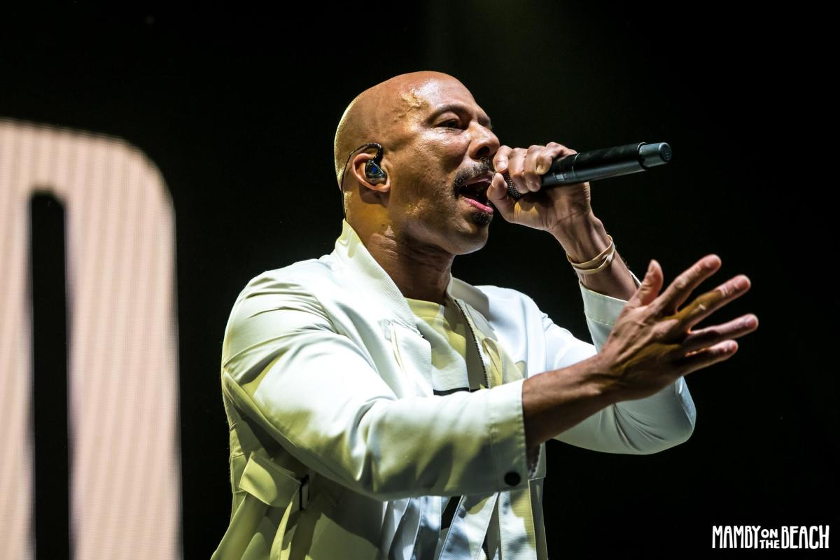 Photo from Common's performance on Saturday