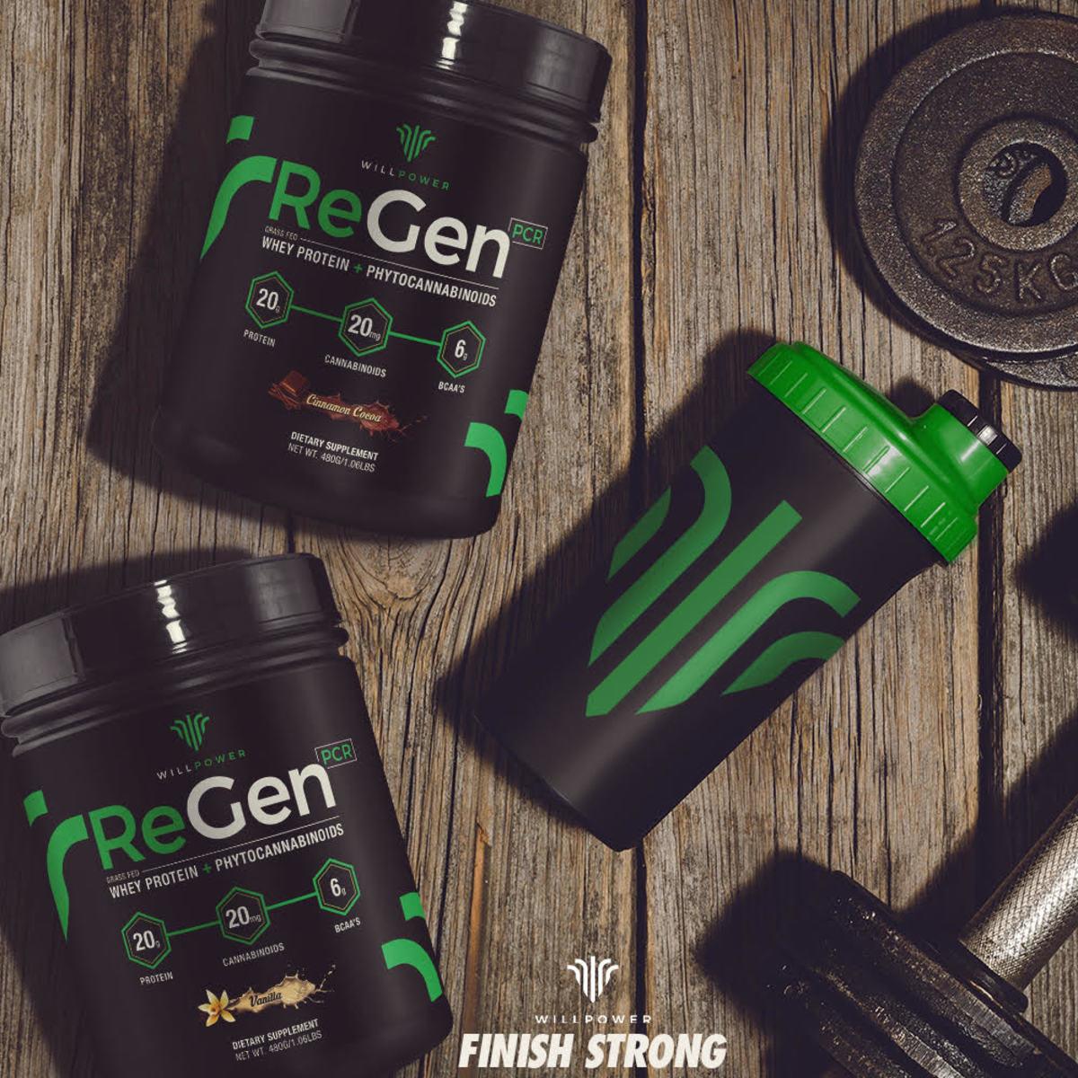 ReGen Whey Protein CBD