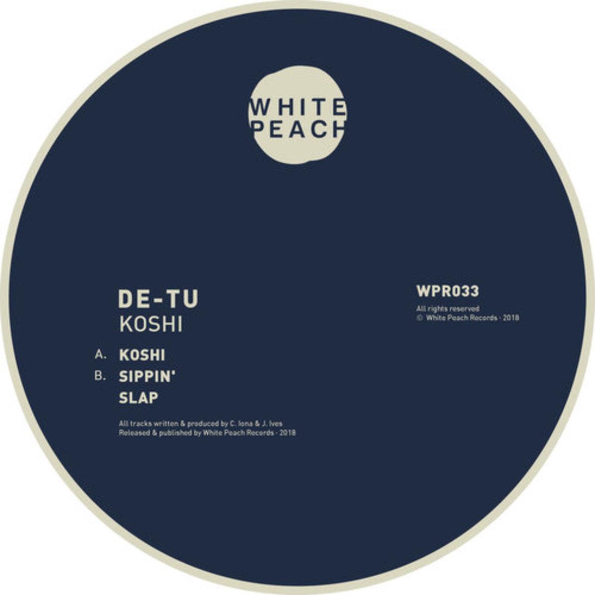 WPR033 : DE-TU - Koshi EP