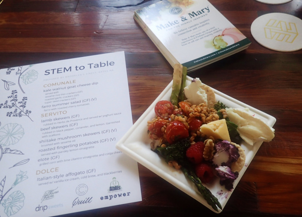 Stem To Table Dinner Menu
