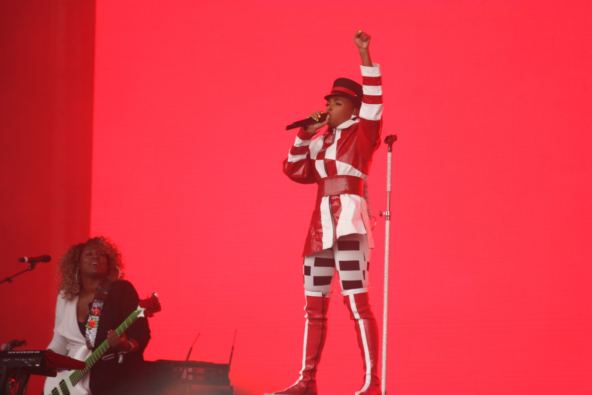 Janelle Monae Outside Lands Festival 2018