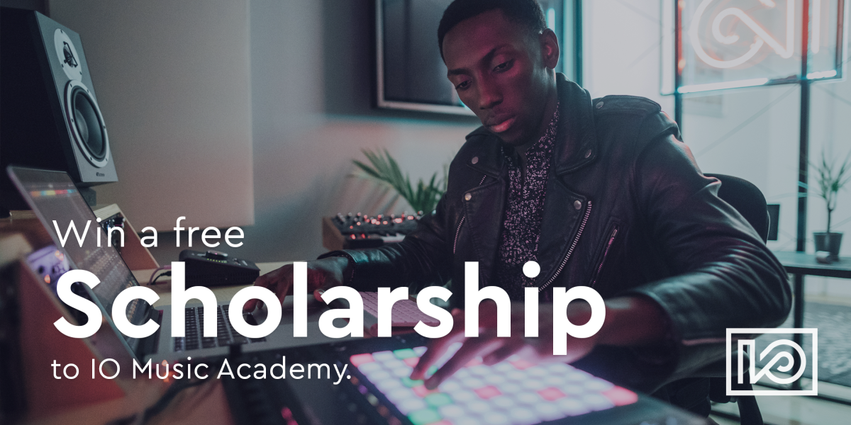 IO Academy Scholarship Contest Header