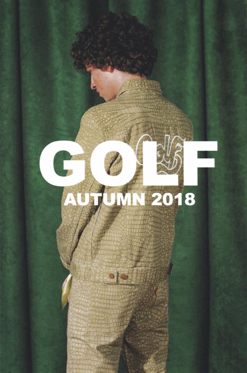 tyler the creator fall 2018 golf lookbook