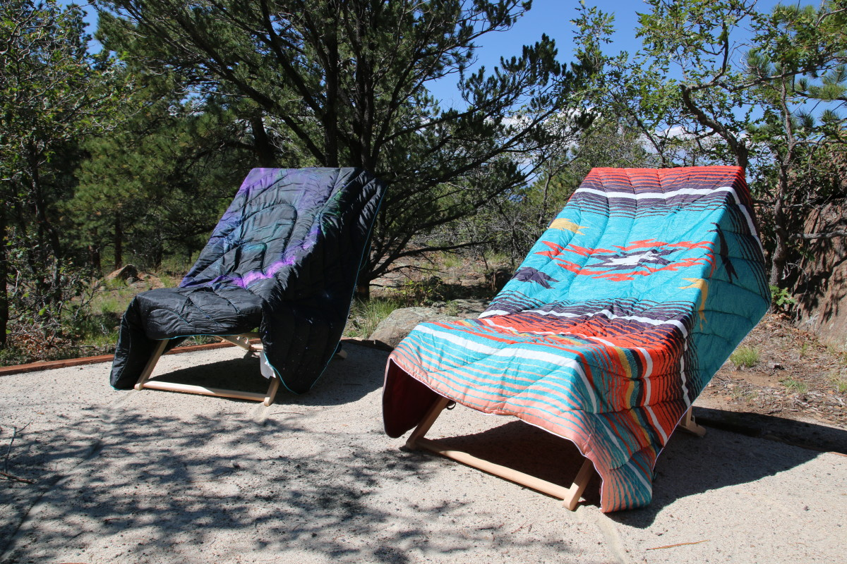 RUMPL Blankets (Space Oddity - Left) + (Nipomo Collaboration - Right) Both $129