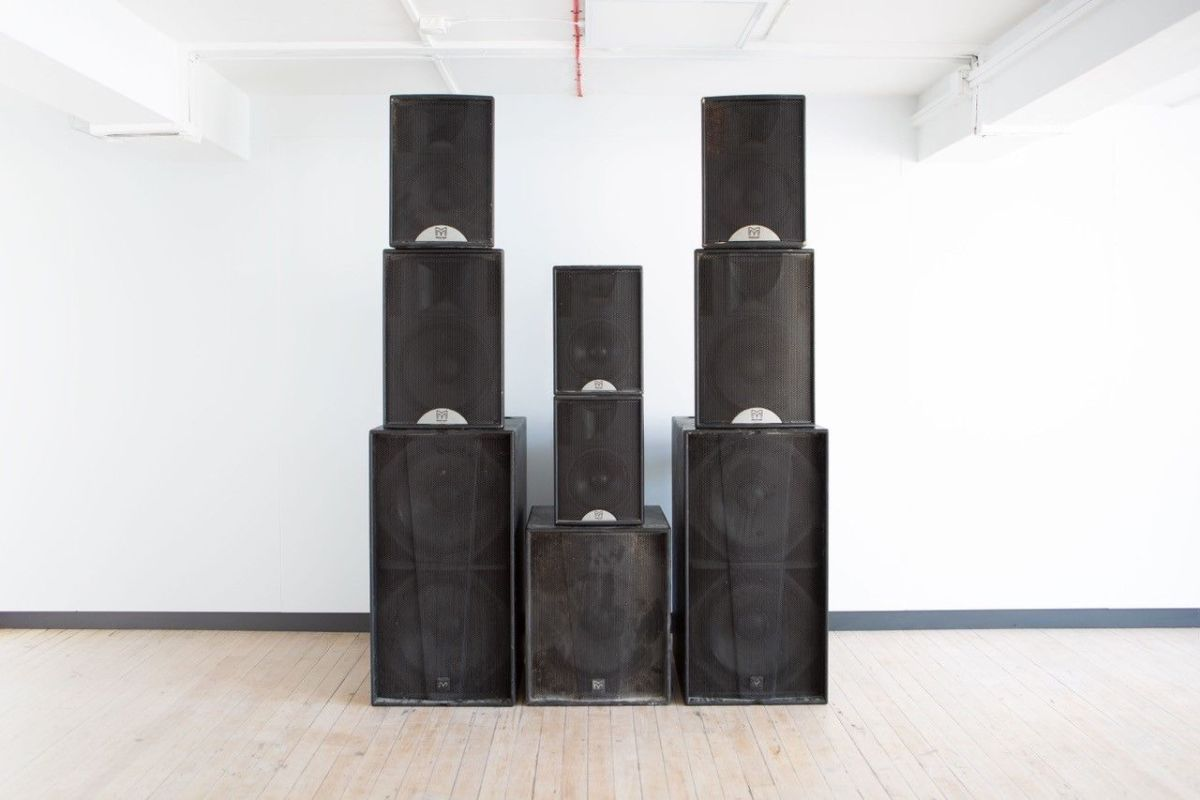 Fabric soundsystem speakers