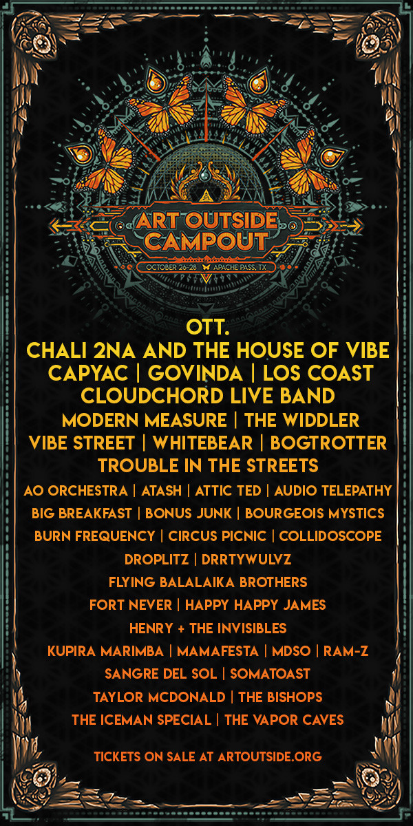 Art Outside 2018 Lineup