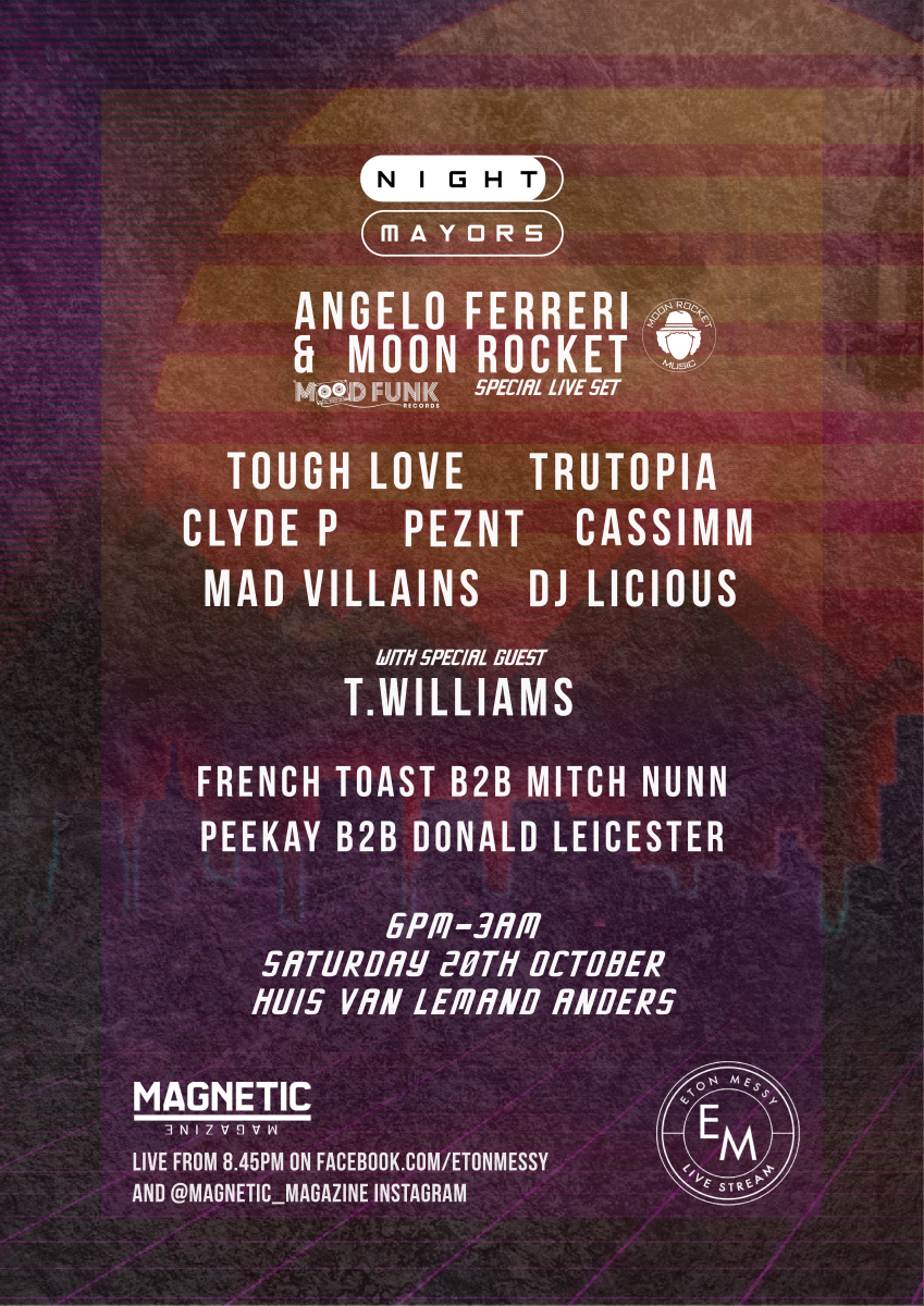 Trutopia ADE Night Mayors 2018 Lineup