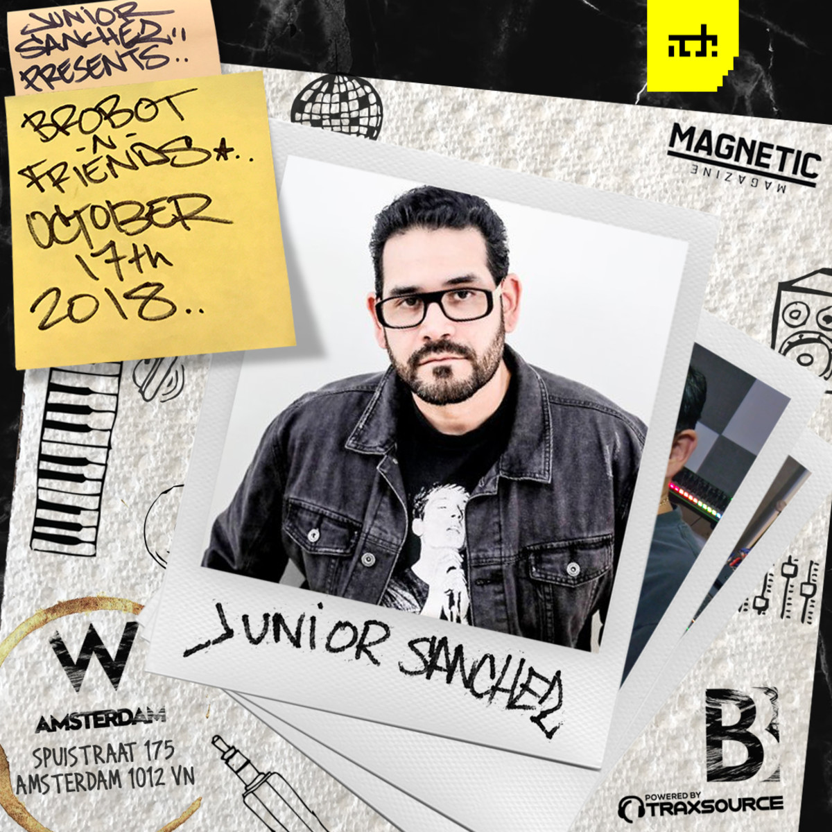 Brobot ADE 2018 Junior Sanchez Magnetic