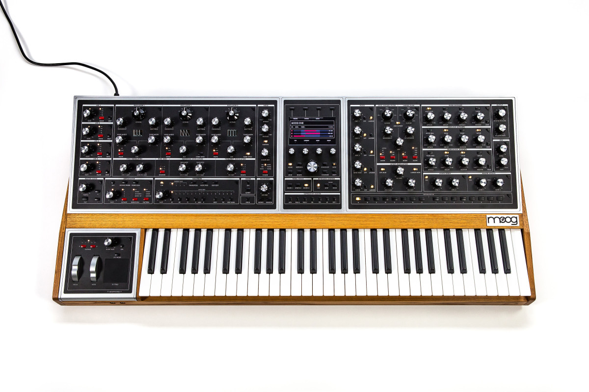 Classic Moog styling, paired with next generation technology