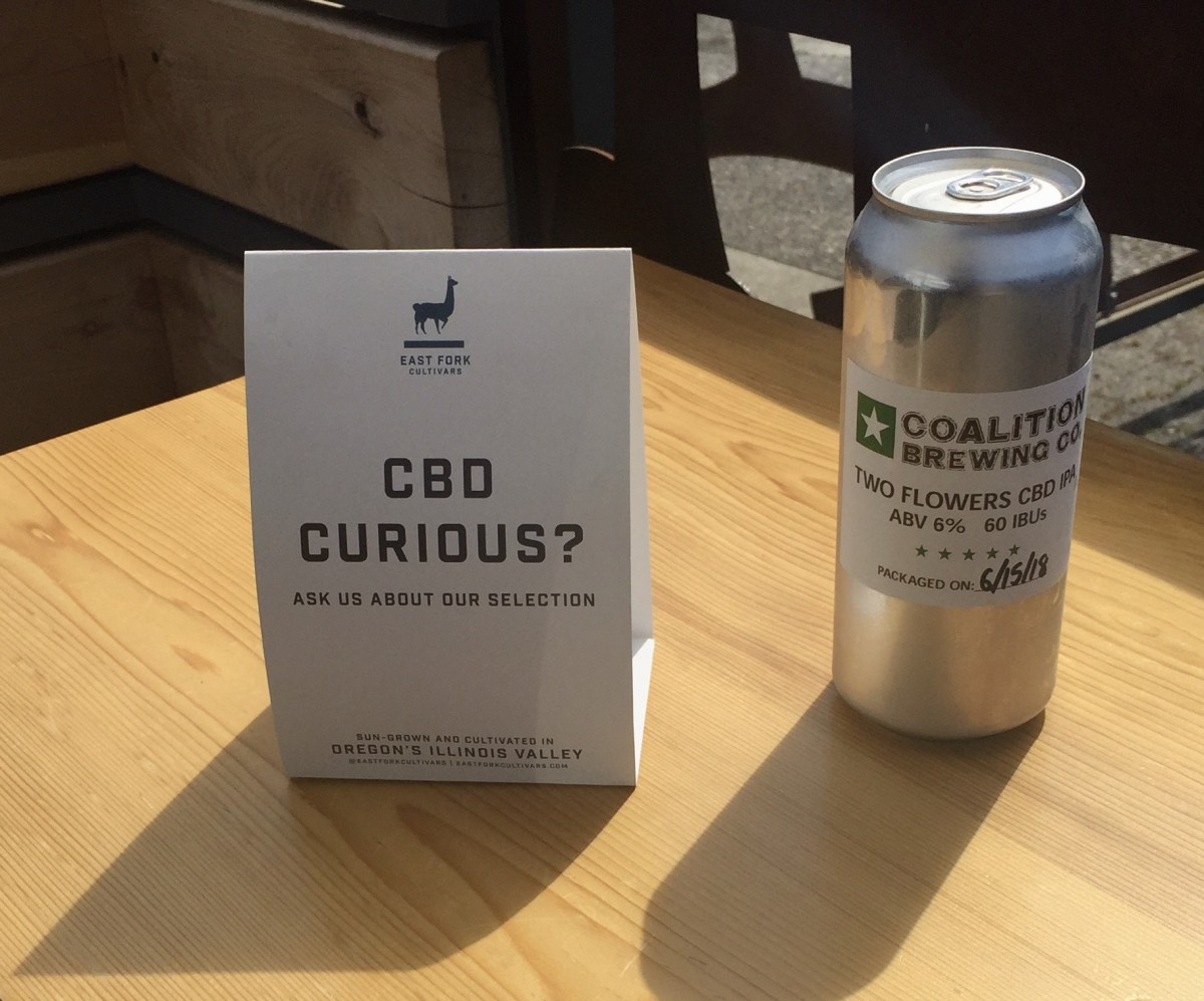 Two Flowers CBD Beer