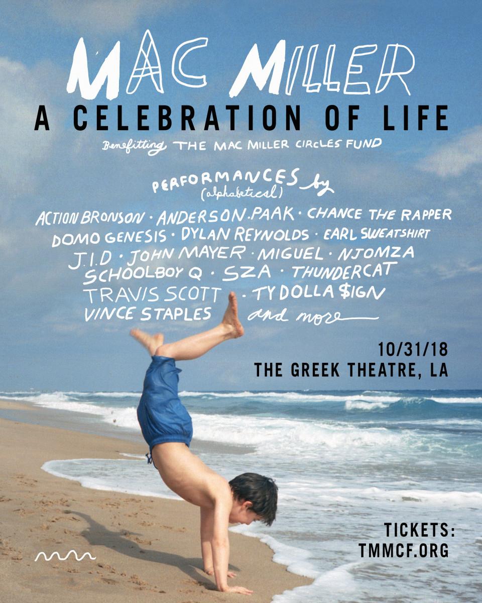 mac Miller A Celebration of Life