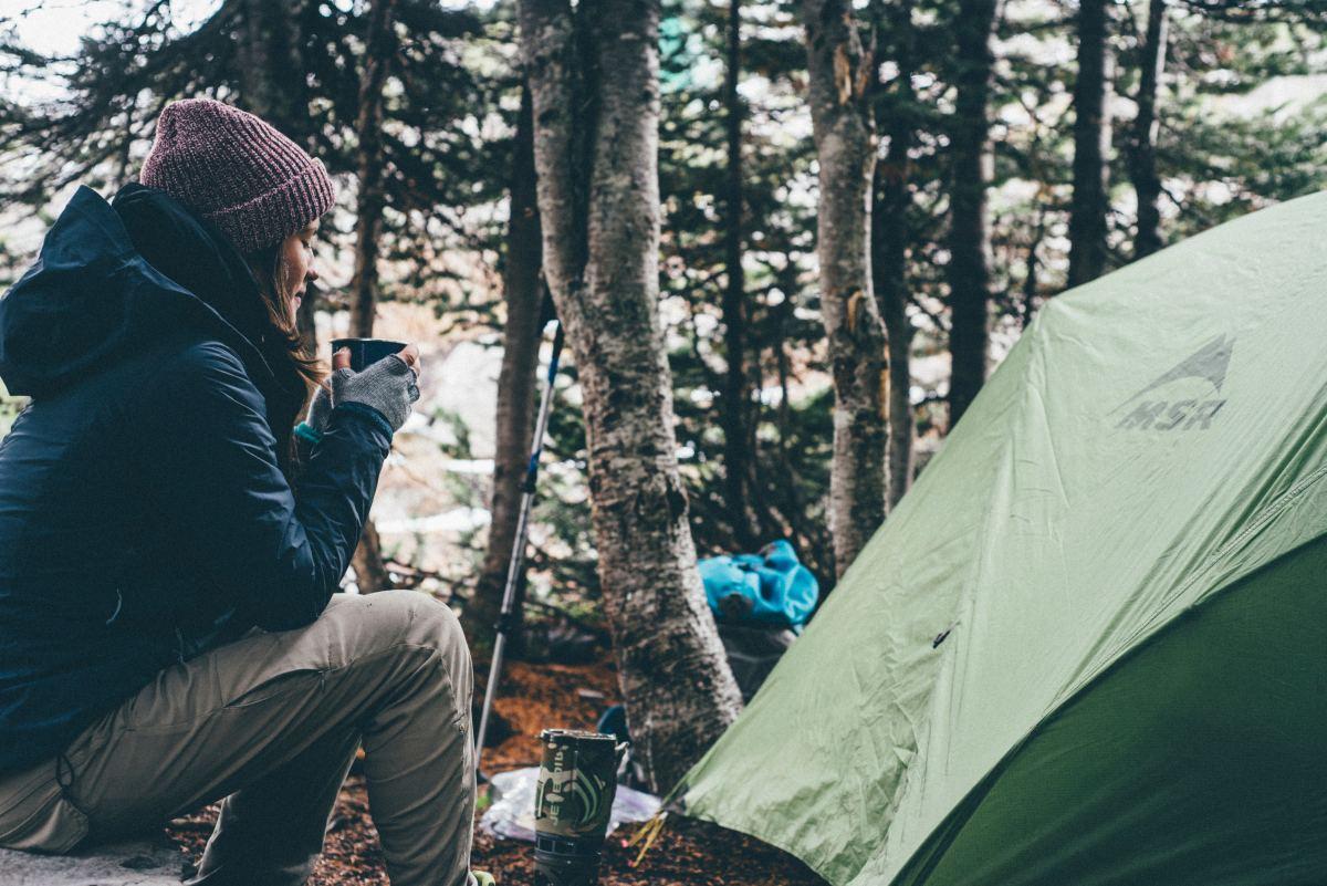 CampCrate female camping