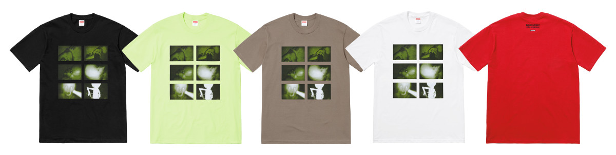 Supreme Aphex Twin T-shirts