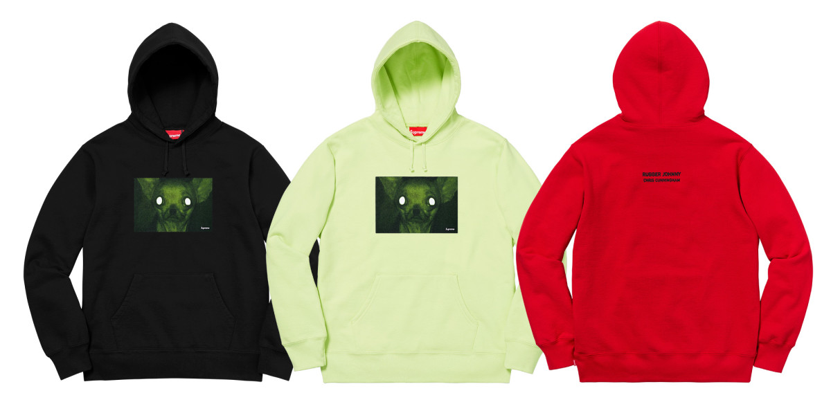 Supreme Aphex Twin Hoodies