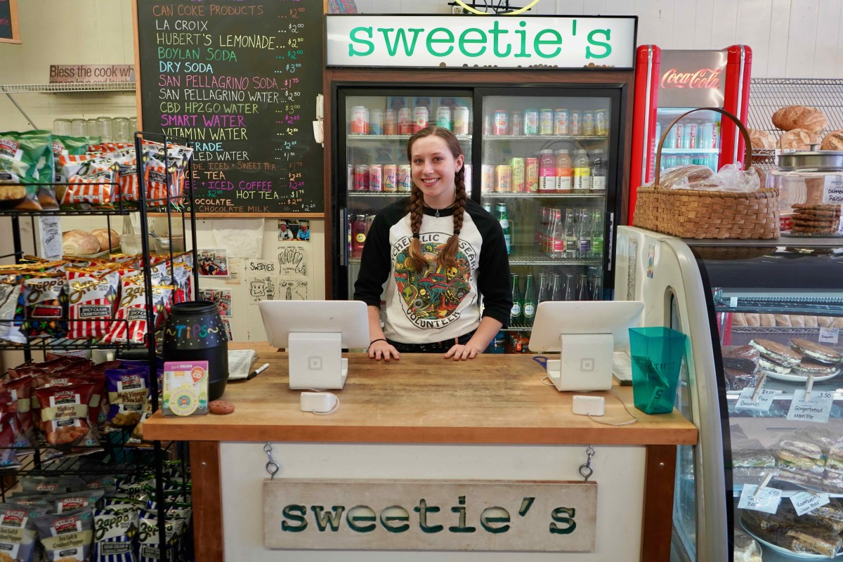 Sweetie's in Salida, Co might very well be one of the best sandwiches in the state or USA for that matter. If you like sandwiches head to this local favorite and dive in to their massive menu - good luck deciding.