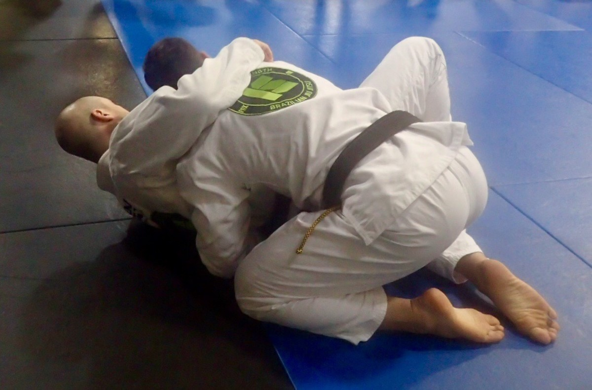 Jiu Jitsu demonstration at Industrial Strength