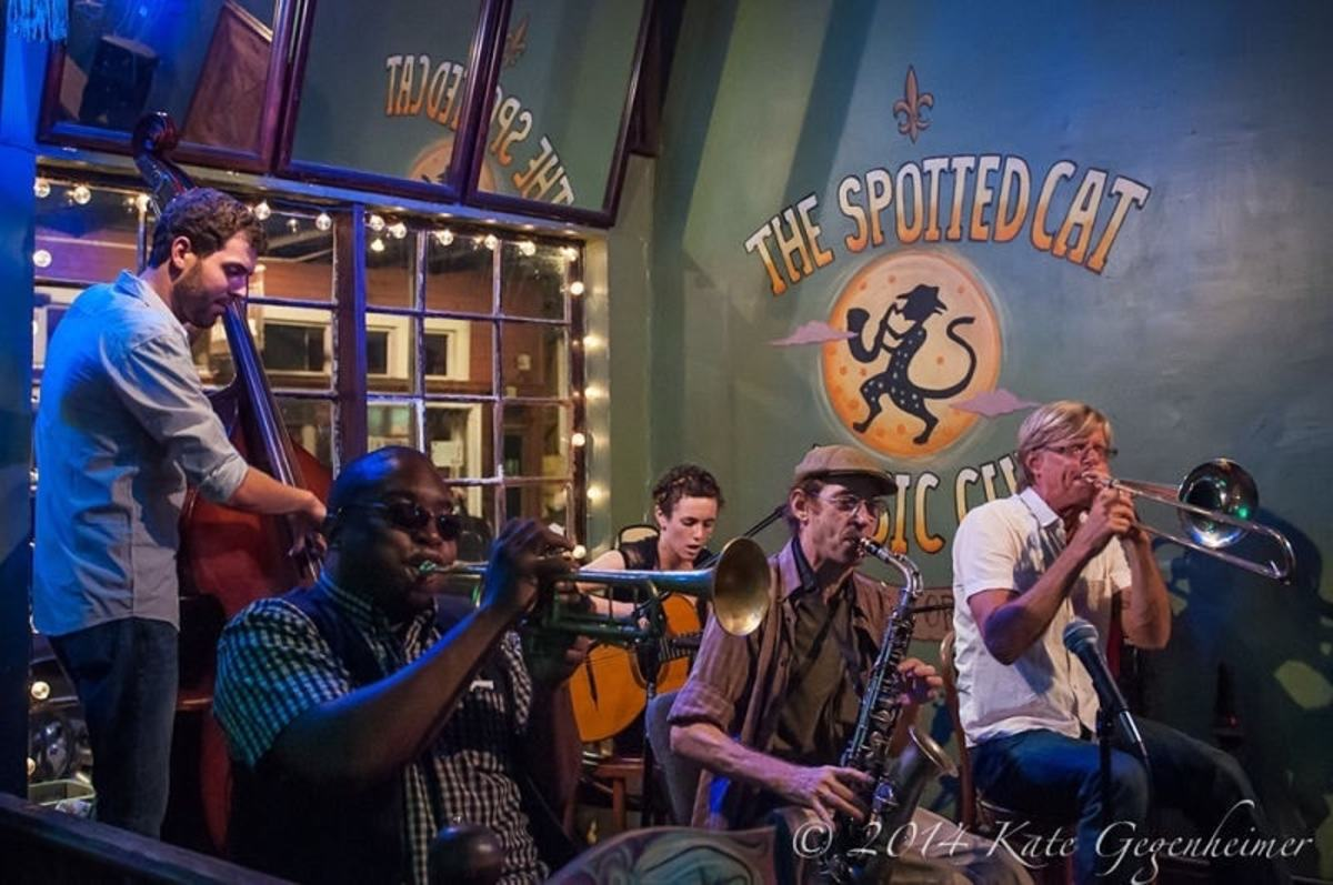 The Spotted Cat - New Orleans