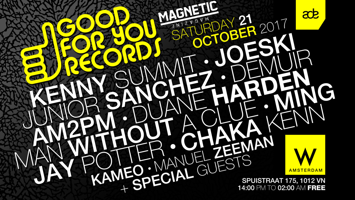 Good For You ade2017saturday