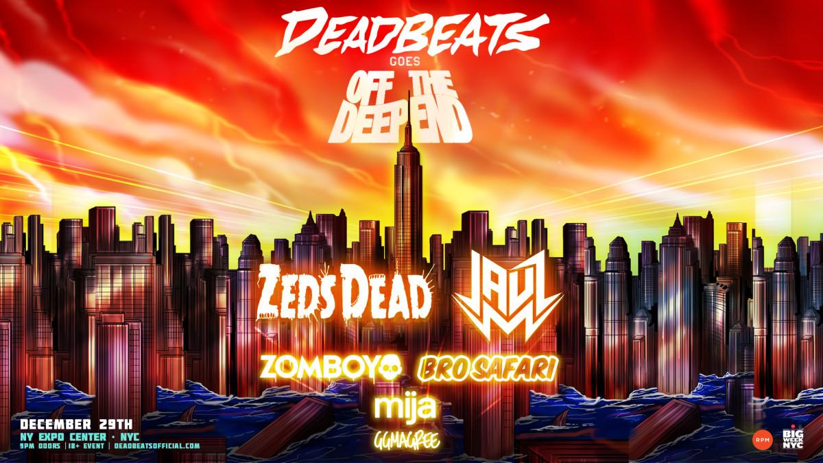 Zeds Dead Jauz NYE 2017