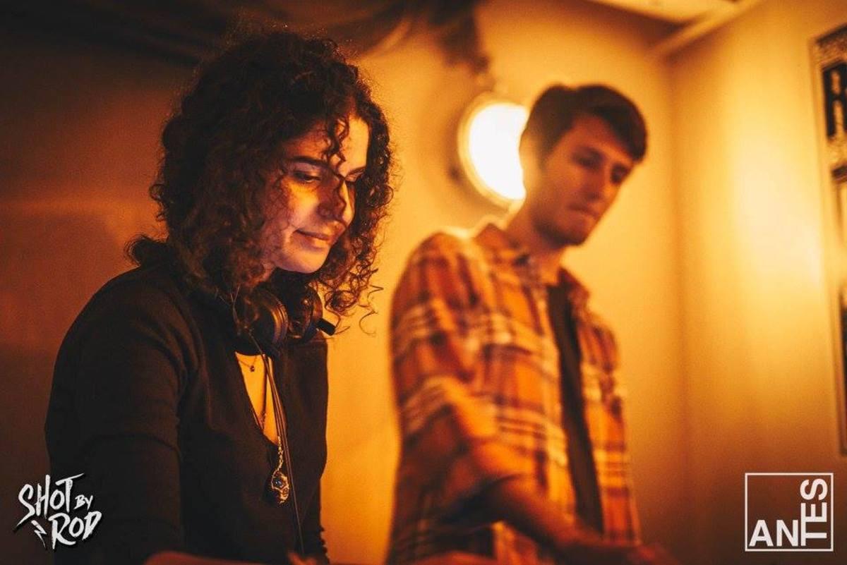 Carlita and David Marston at ANTES