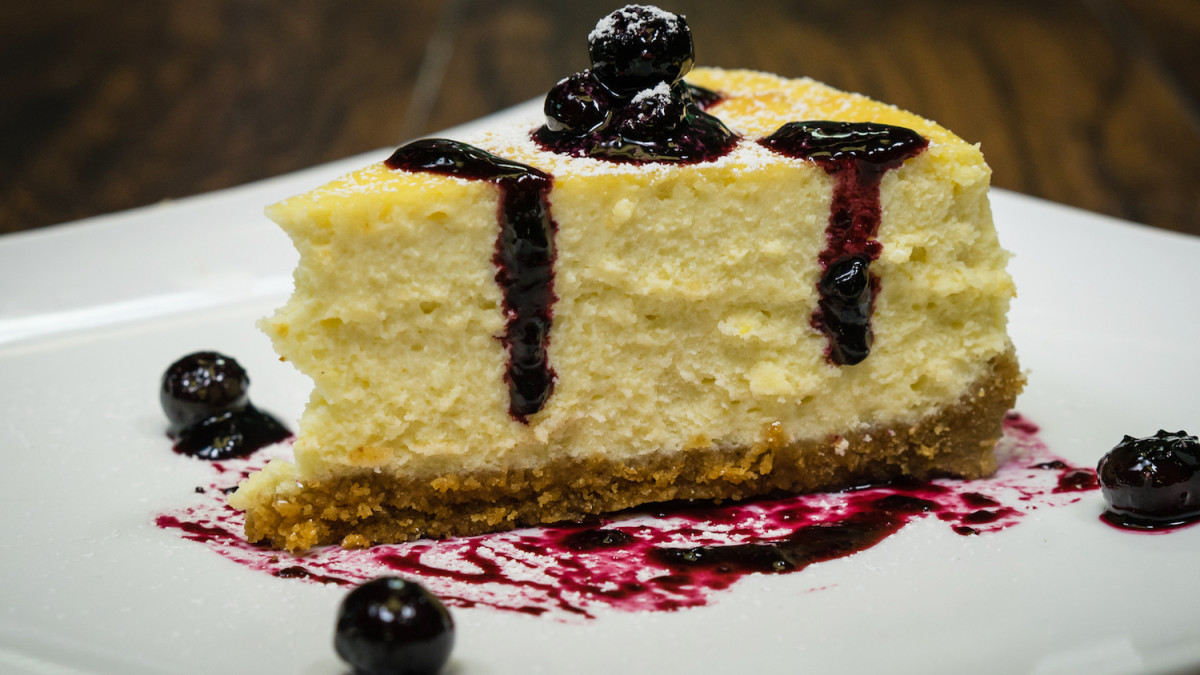 Chef Joey's NYC Diesel Cheesecake