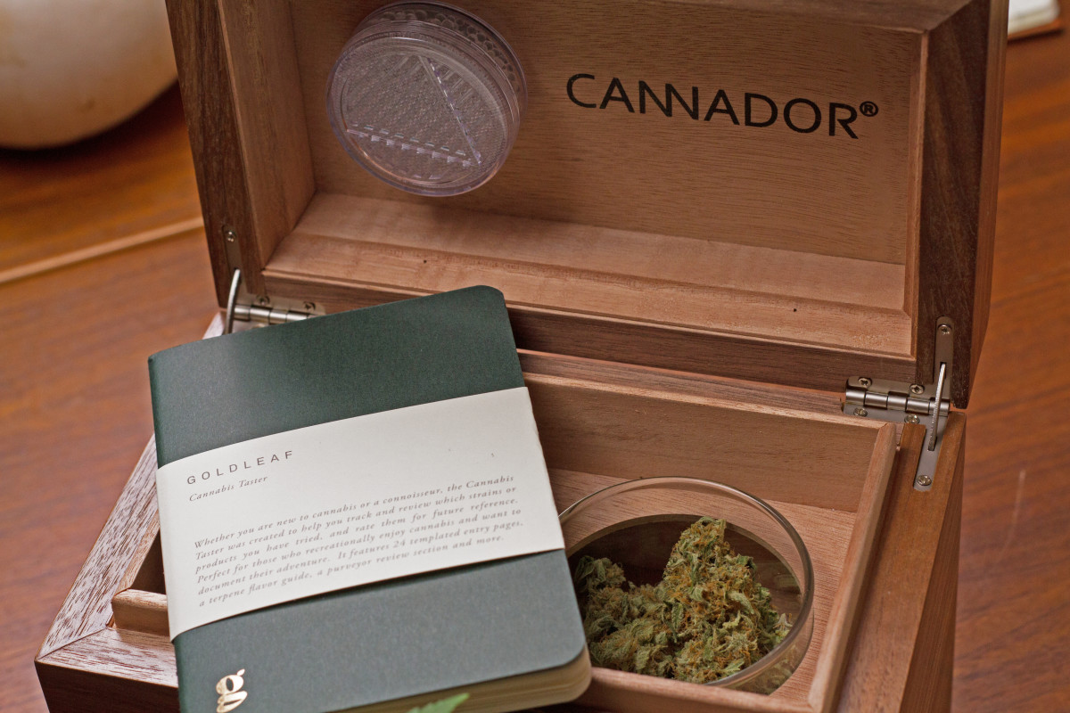 Goldleaf Journal & Cannador