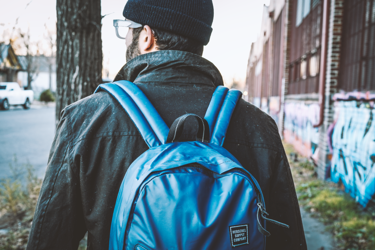 Have Backpack will travel - Photo by Jonas Tempel | Model - Cam