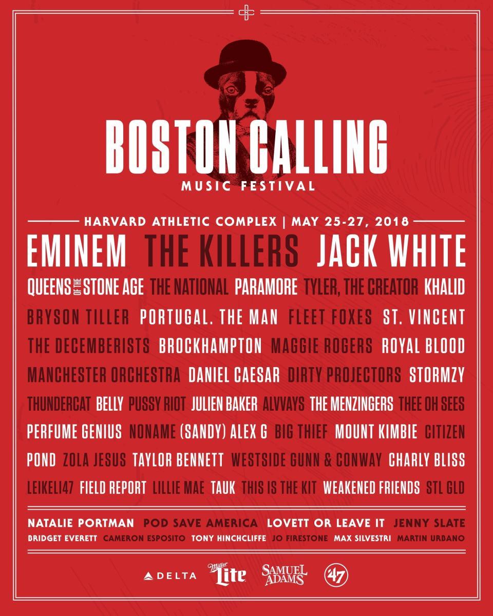 Boston Calling 2018 Lineup