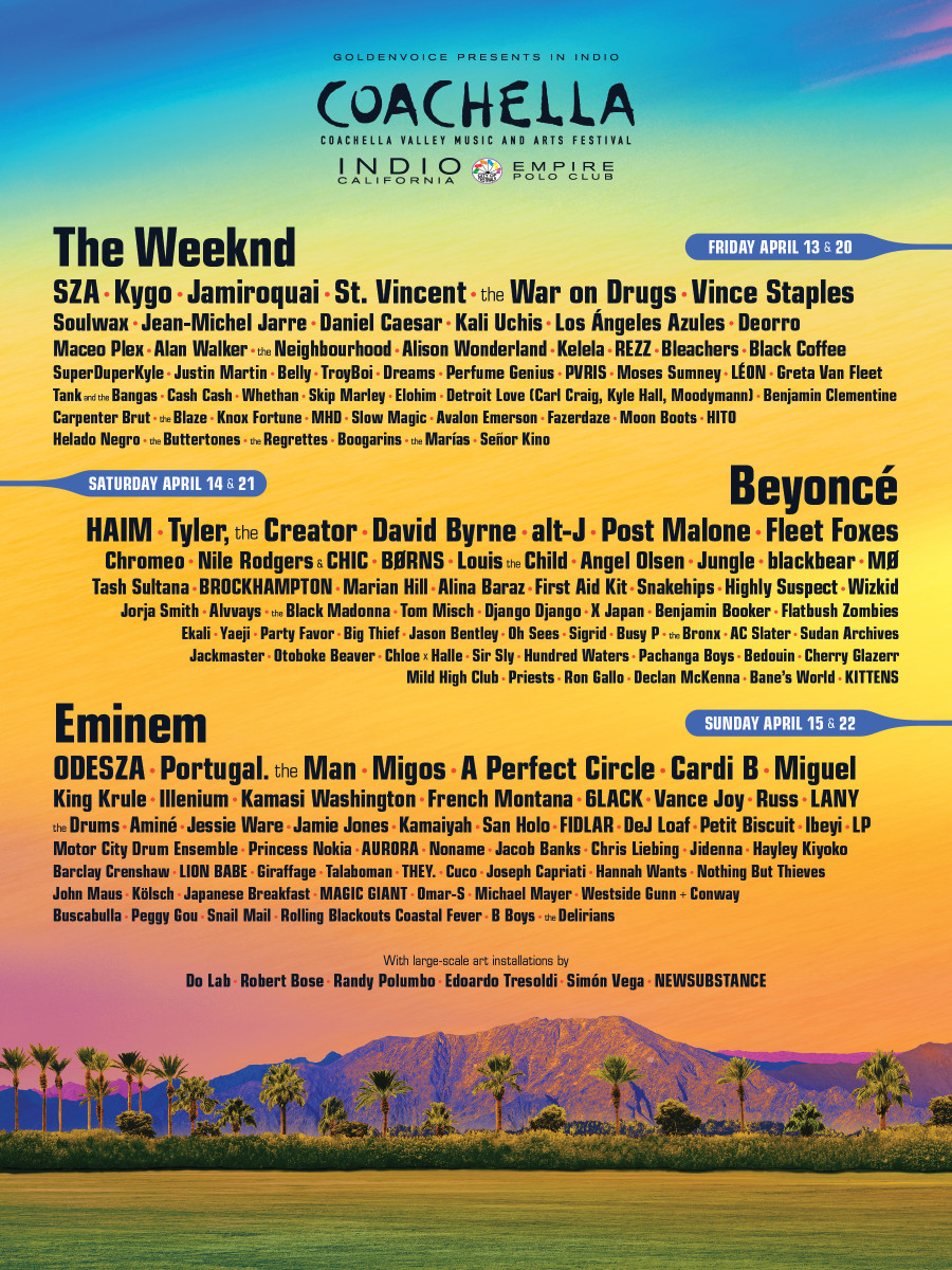 Image Courtesy of Coachella