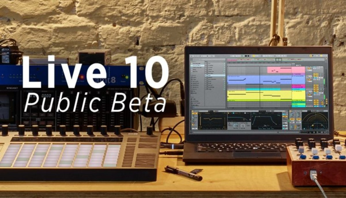 Ableton 10 Live Beta